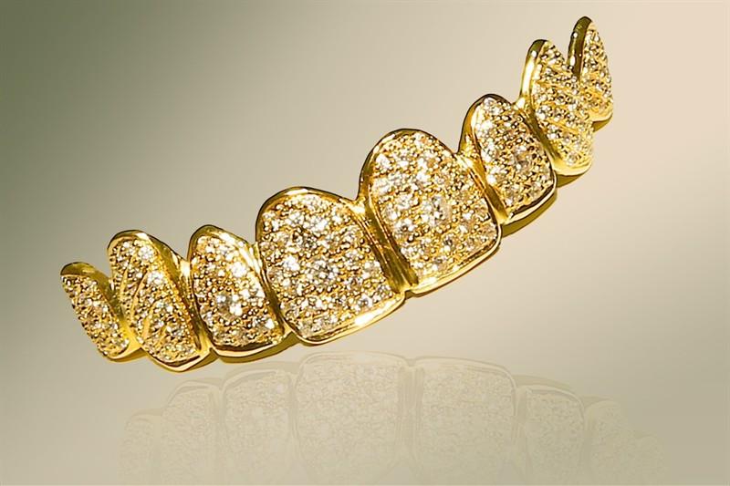 fundas oro y diamante