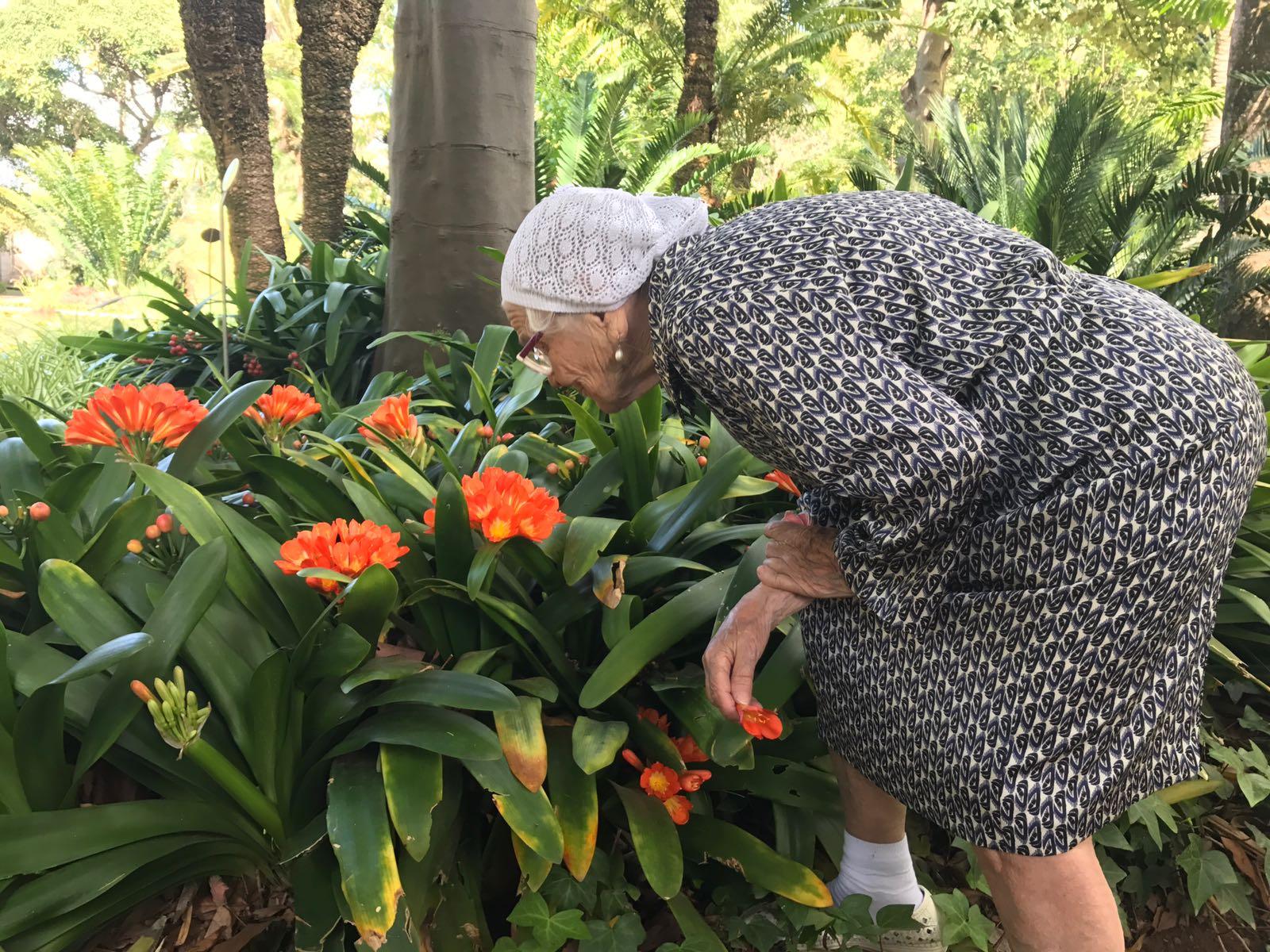 Baba Lena en el Botánico