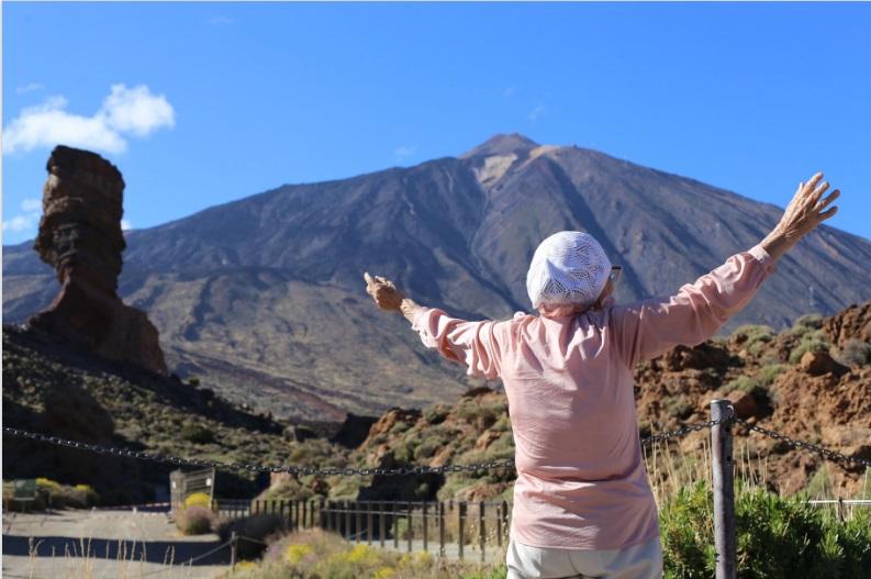 Baba Lena en el Teide