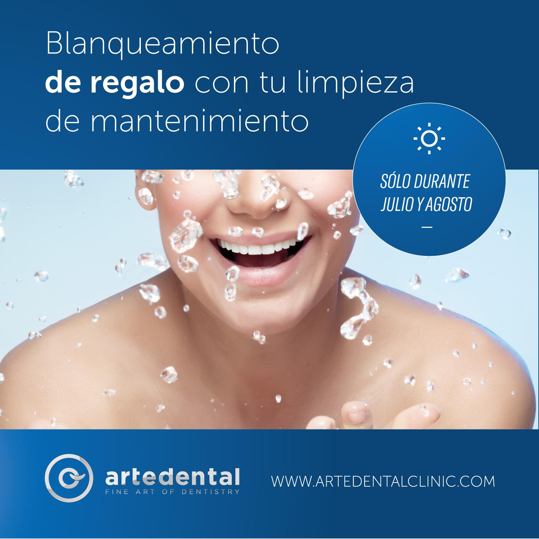 Blanqueamiento dental, gratis